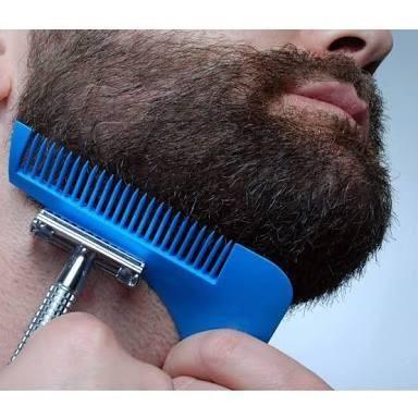 Pente alinhador de Barba