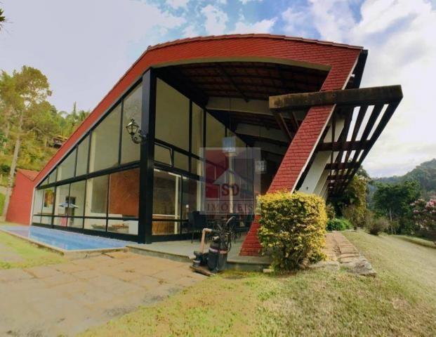 Casa com 4 dormitórios à venda, 345 m² por r$ 850.000,00 - albuquerque - teresópolis/rj - Foto 5