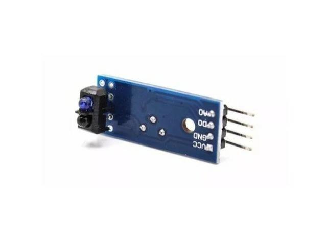 COD-AM64 Sensor De Linha Segue Faixa Infravermelho Tcrt5000 Arduino Robotica Automação - Foto 2