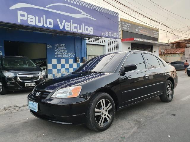 Civic 1.7 LX Gasolina 2001 Repasse!