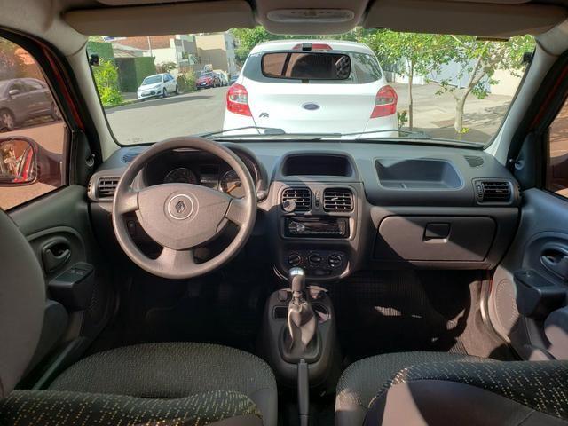 Renault clio expression 1.0 16v 4 portas completo 2013/2014 *único dono* placa i - Foto 7