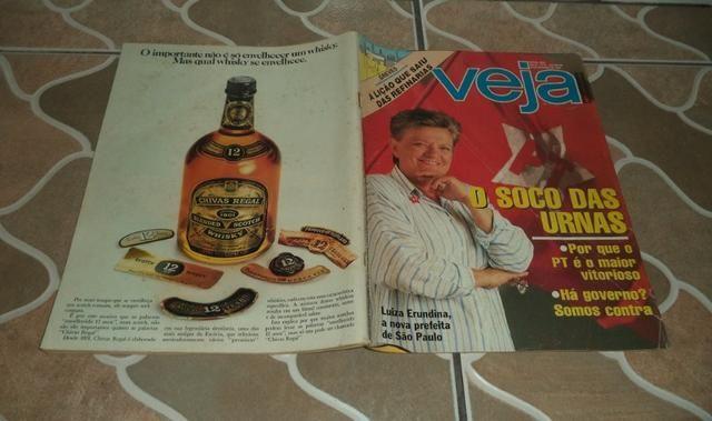 Revista Veja 23 De Novembro De 1988. Capa Luiza Erundina A Nova Prefeita De S.P