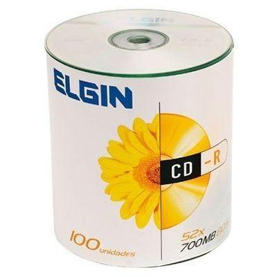 Tubo CD-R - 700 Mb - 100 un