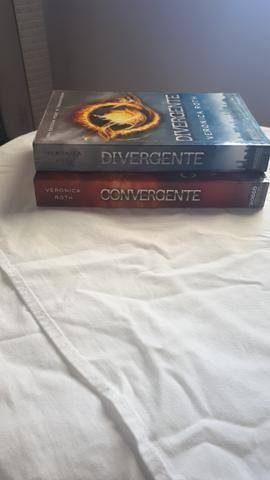 Livros divergente e convergente