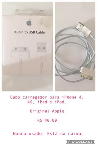 8a701201c06 Cabo carregador Original Apple - Celulares e telefonia - Continental ...
