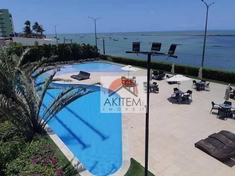 Apartamento com 04 quartos, 03 suítes e lazer fantástico a beira mar de Olinda - Foto 10