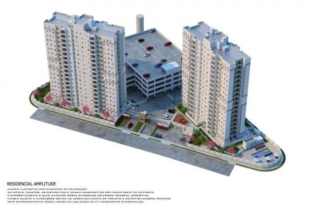 Residencial Amplitude Aptos 38,80 a 48,36m3 1 e 2 Dorms,Sala,Cozinha,Banheiro,com opção de - Foto 2