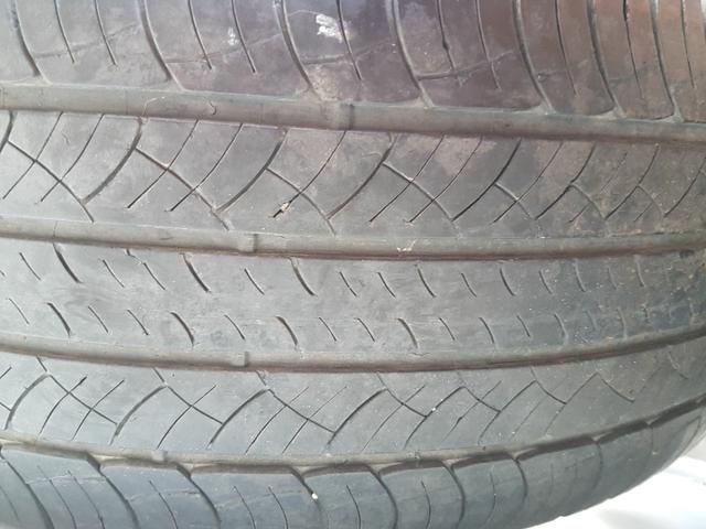 Rodas aro 19 furacão 5 x 100 com pneus - Foto 2