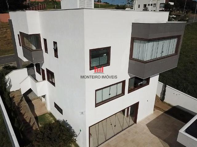Exclusiva Casa moderna com 4 quartos sendo 3 suítes no Condomínio Alphaville Vespasiano - Foto 17