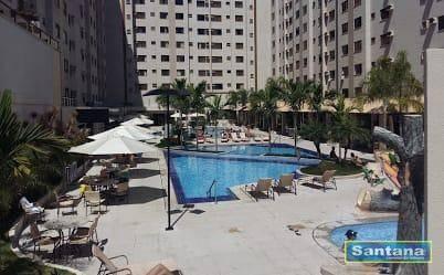 Apartamento com 1 dormitório à venda, 32 m² por R$ 100.000,00 - Turista I - Caldas Novas/G - Foto 10