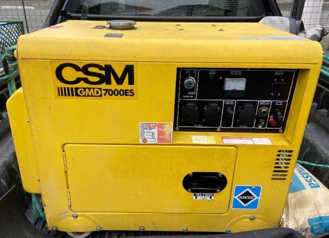 Gerador à diesel CSM