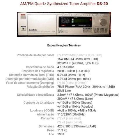 Amplicador Gradiente DS 20