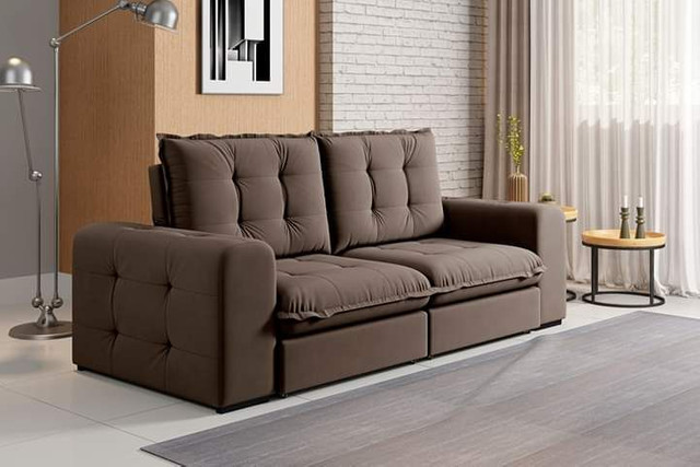 Sofa retratil e reclinavel fofissimo KAL717