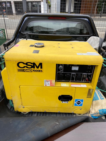 Gerador à diesel CSM - Foto 2