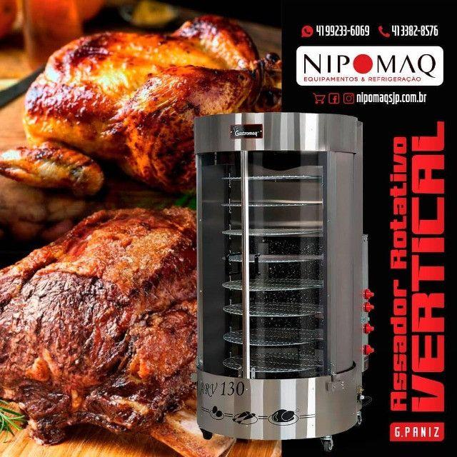 PR-6100 Assador de Carne e Frango Duplo 10 Espetos - Progás - Foto 3