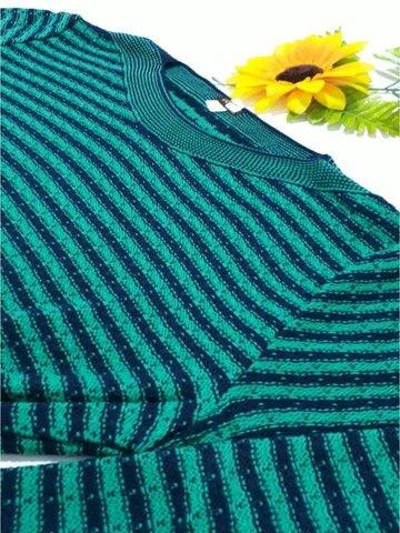 Blusa de Tricô Feminina Luciana - Tamanho GG - Linha Plus Size - Foto 5