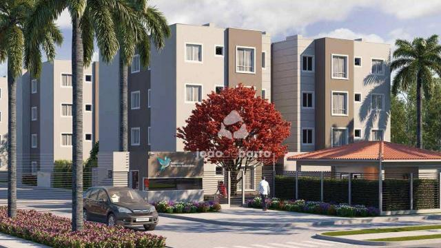 Apartamento com 2 dormitórios à venda, 46 m² por R$ 159.990 - Tijuca - Campo Grande/MS - Foto 8