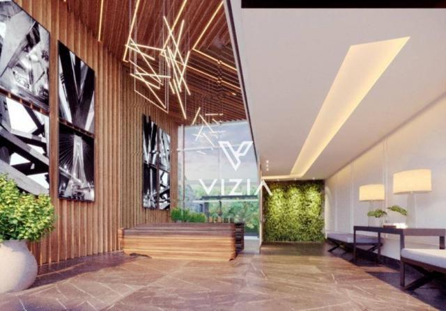 Apartamento com 1 dormitório à venda, 41 m² por R$ 315.000,00 - São Francisco - Curitiba/P - Foto 3