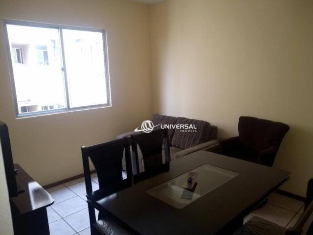 Apartamento com 3 quartos para alugar, 61 m² por R$ 1.200/mês - Cascatinha - Juiz de Fora/ - Foto 3