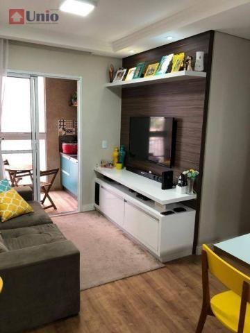 Apartamento com 3 dormitórios à venda, 68 m² por R$ 390.000 - Alto - Piracicaba/SP - Foto 5