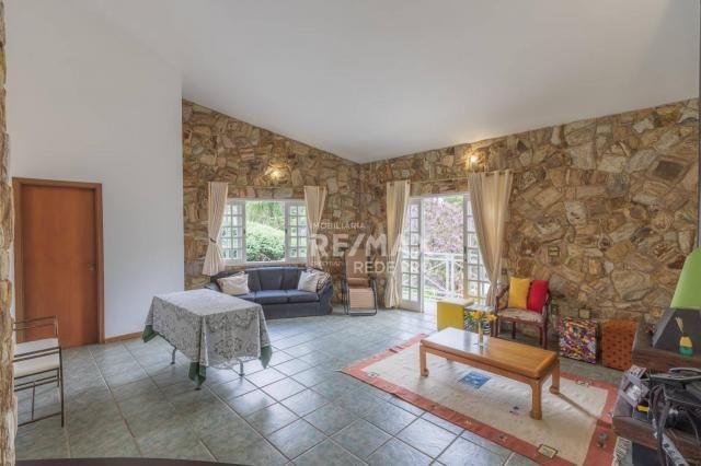 A Casa Azul! Térrea com 3 dormitórios e terreno de 1310m2 à venda no Condomínio Marambaia- - Foto 11