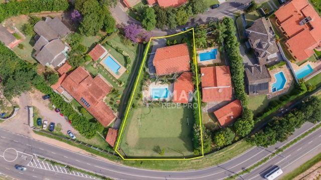 A Casa Azul! Térrea com 3 dormitórios e terreno de 1310m2 à venda no Condomínio Marambaia- - Foto 3