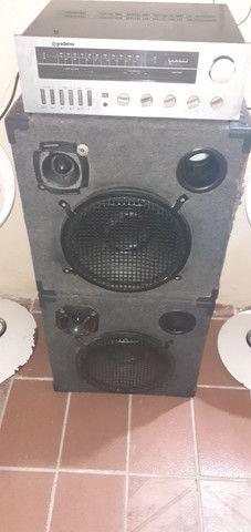 Vendo esse som modulado R$ 600.00 - Foto 4