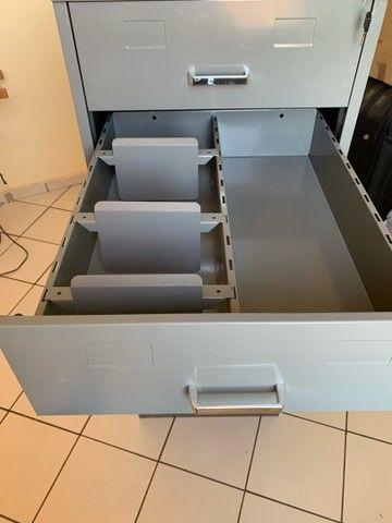Armario Arquivo em aço 5 gavetas - Foto 5
