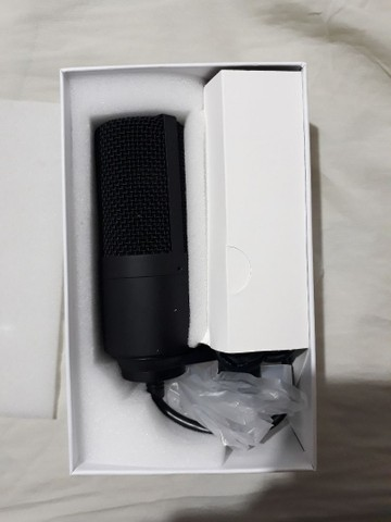 Microfone Fifine K669 condensador Preto Novo