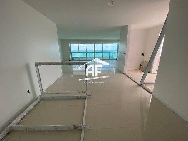 Cobertura nova com Vista total e ampla na beira mar da praia de guaxuma - Foto 8