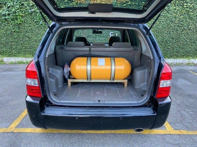 Tucson 2.0 GLS Automático  2013 com GNV de 5 geração - Foto 8