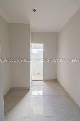 Belíssima casa térrea nova no bairro Rita Vieira 1-  Com duas suites - Foto 7