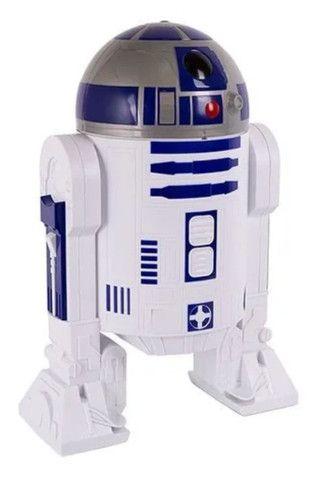 Balde R2D2 Star Wars Cinemark com Certificado de Autenticidade - Foto 3