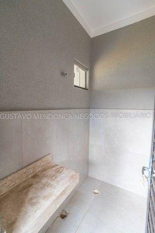 Belíssima casa térrea nova no bairro Rita Vieira 1-  Com duas suites - Foto 19