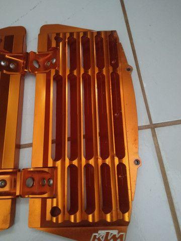 Protetor do radiador da ktm 300 2017 a 19 - Foto 3