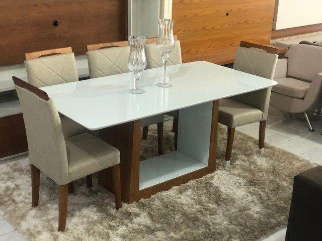 Mesa nova completa de 8 lugares  - Foto 2
