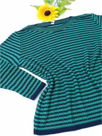 Blusa de Tricô Feminina Luciana - Tamanho GG - Linha Plus Size - Foto 4