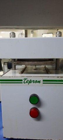 SELADORA DE BLISTER -TEPRON + 3 BERÇOS ( completa). - Foto 2