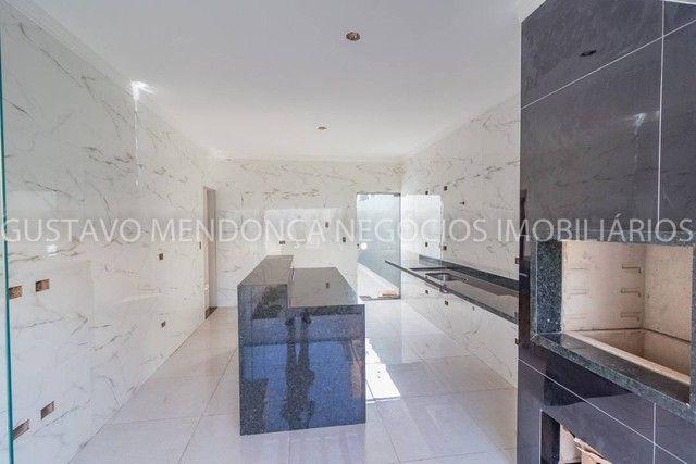Belíssima casa térrea nova no bairro Rita Vieira 1-  Com duas suites - Foto 9