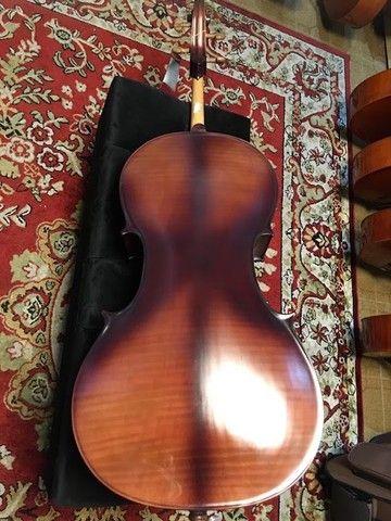 Violoncelo 4/4 Nhureson premium madeira nobre exposta Araucaria Serie limitada - Foto 2