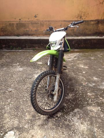 KDX COM MOTO 4T DA CBX 200 -TROCO