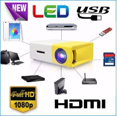 Mini Projetor LED 1080P YG-300 LCD