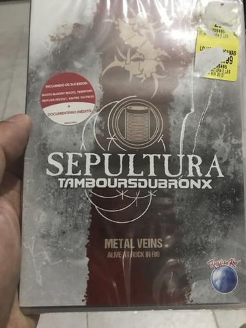 DVD do Sepultura