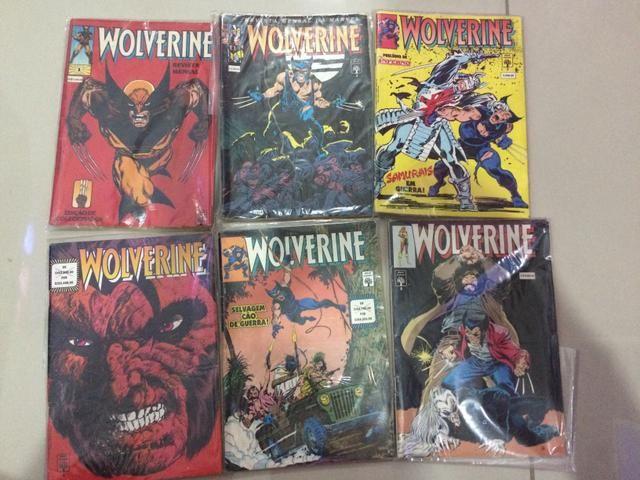 Coleção completa Wolverine - gibi