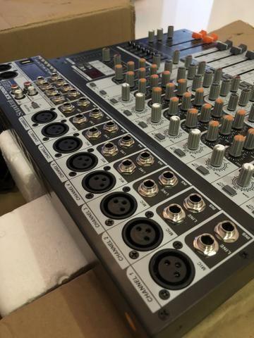 MESA DE SOM - SoundCraft Analógica EFX-12