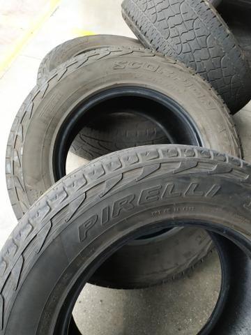 4 Pneus Pirelli 265 65 17