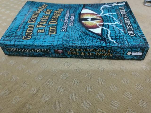 Livro Como combater a fúria de um dragão