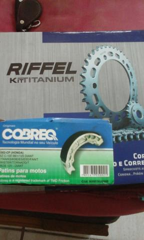 Kit corrente da RIFEL p/ pop,biz ou cinquentinha