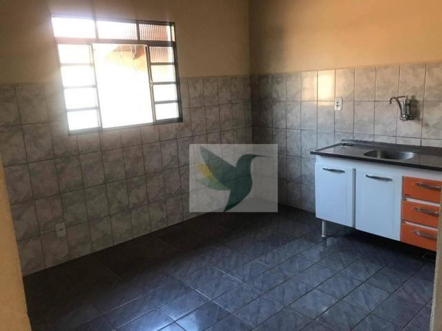 Casa com 2 dormitórios para alugar, 85 m² por r$ 1.250/mês - residencial bela vista - Foto 5
