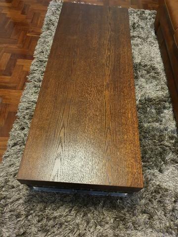 Mesa de centro em madeira - Foto 3